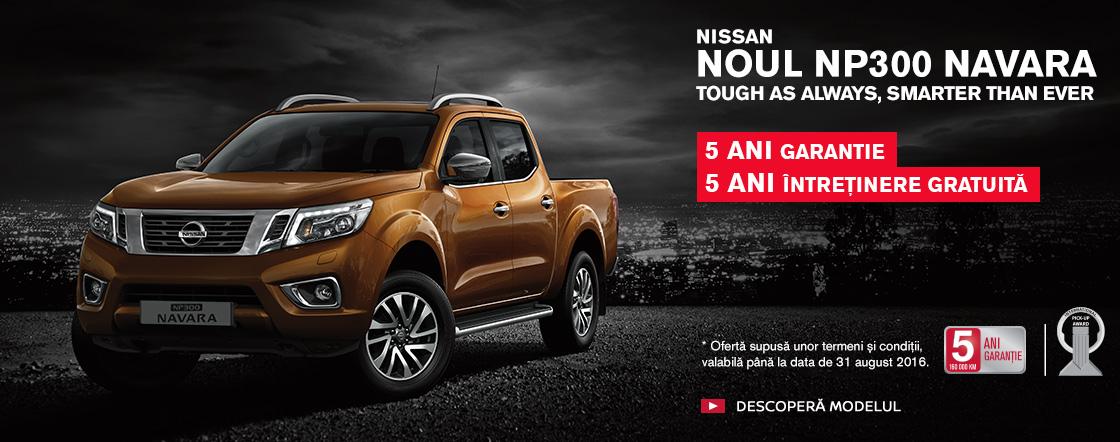 Promotie Nissan Navara