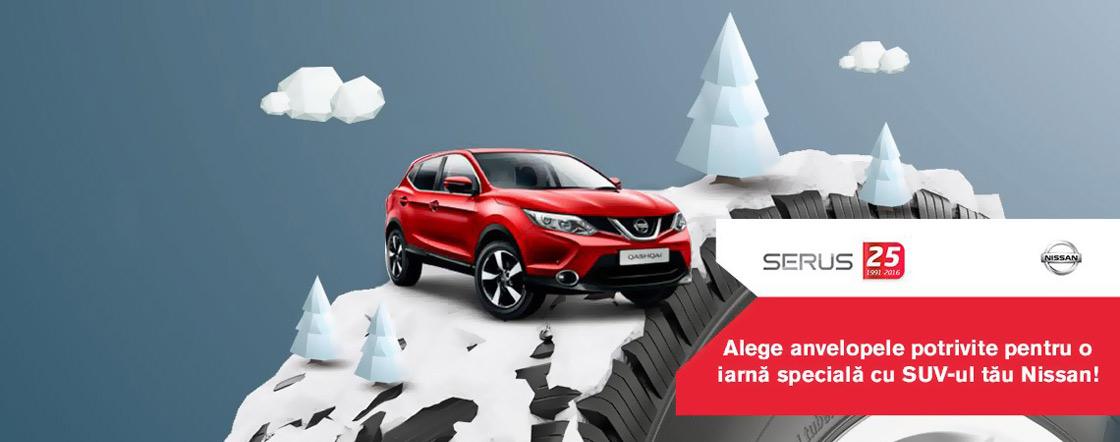 Anvelope iarna Nissan